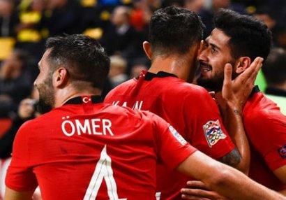 UEFA Millətlər Liqası: Türkiyədən möhtəşəm qələbə