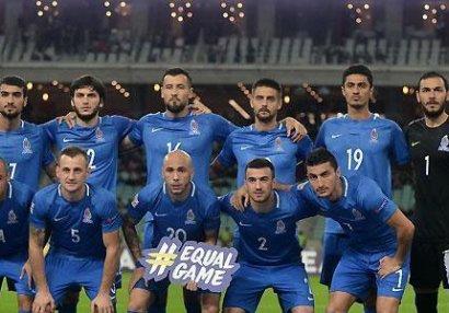 Millimiz FIFA reytinqində irəlilədi