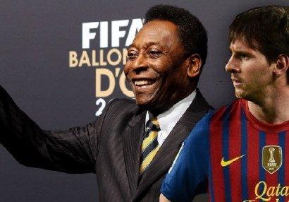 Messi yalnız Peledən geri qalır
