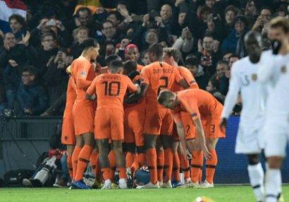 Hollandiya dünya çempionuna