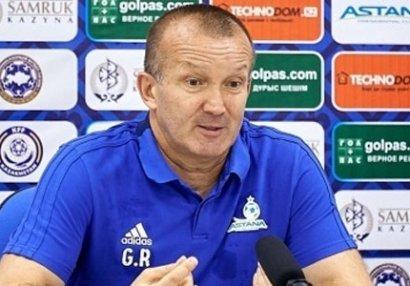"""Astana""dan Roman Qriqorçuk açıqlaması"