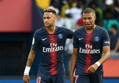 Neymar və Kilian Mbappe barədə şok iddia