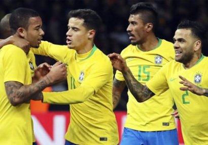 Azərbaycan millisi Braziliya ilə yoldaşlıq oyunu keçirə bilər