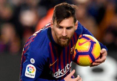 ŞOK! Messi