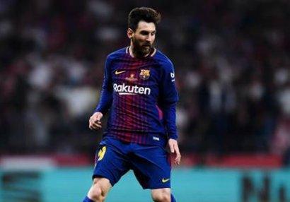 Messi coşdu,