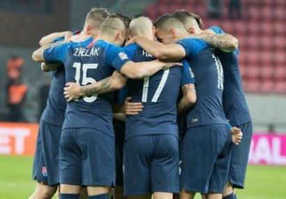 Slovakiya Azərbaycanla oyundan əvvəl yoldaşlıq matçı keçirəcək