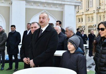 İlham Əliyev və Leyla Əliyeva ulduzların oyununda - FOTOLAR