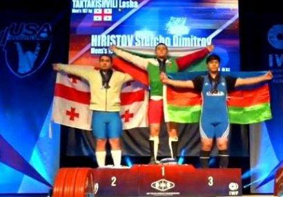 Əli Şükürlü dünya birinciliyinin bürünc medalçısı oldu!
