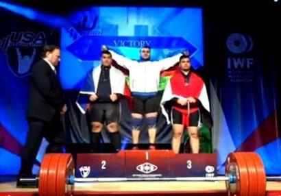 Rəhman Kazımov DÇ-də qızıl medal qazandı, millimiz 5-ci yeri tutdu