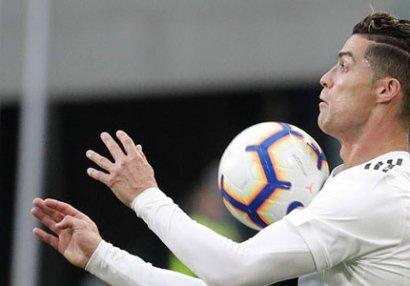 Ronaldo açıqlama verdi: