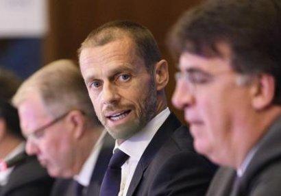 Bakıda ilk dəfə UEFA İcraiyyə Komitəsinin iclası keçirildi - FOTOLAR