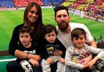 Messi oğlu haqqında: