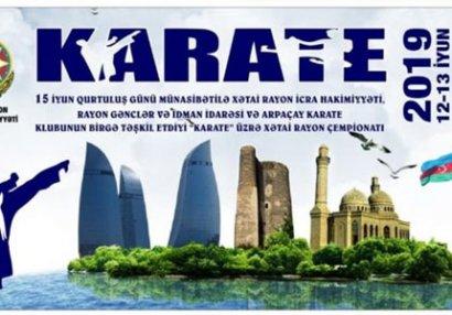 Arpaçay Karate Klubunun təşkilatçılığı ilə Karate üzrə seminar və Açıq Çempionat keçirilib