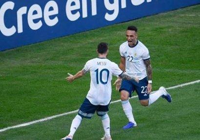 Argentina yarımfinala çıxdı, Braziliyaya rəqib oldu - VİDEO