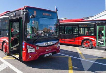 Gənclər Yay Olimpiya Festivalına görə bu avtobusların hərəkət sxemi dəyişdiriləcək - SİYAHI