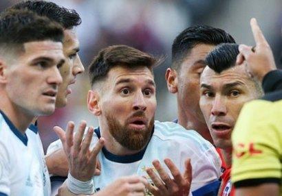 Messi Argentina yığmasından kənarlaşdırıla bilər
