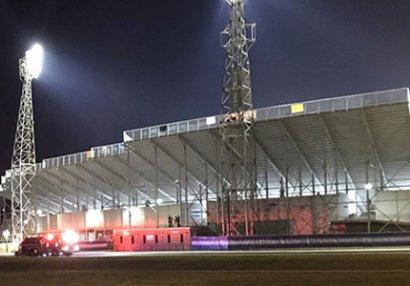 Futbol stadionunda atışma: Çox sayda yaralı var