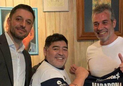 Maradonanın yeni klubu açıqlandı