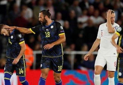 İngiltərə - Kosovo oyununda 8 qol - VİDEO