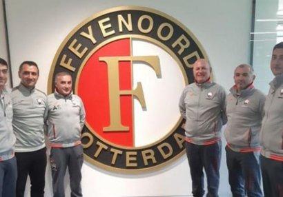"""""""Qəbələ""""nin nümayəndələri """"Feyenoord""""un düşərgəsində"""