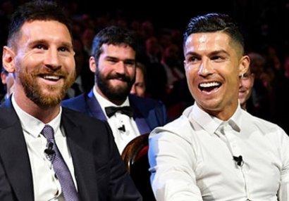 Ronaldo Messini üstələyəcəyini dedi - Bəs bukmeykerlər nə deyir?