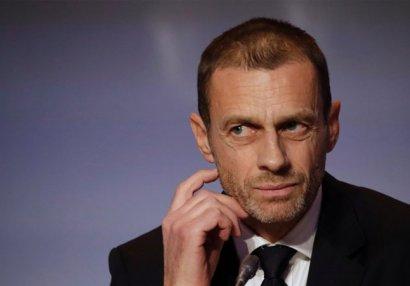 """UEFA prezidenti: """"Siyasi məsələlərə qoşula bilmərik"""""""