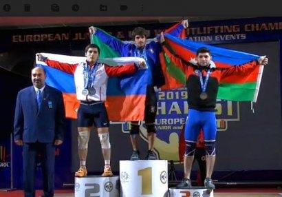 Elşad Şərifov Avropa birinciliyinin bürünc medalını qazandı - FOTO/VİDEO