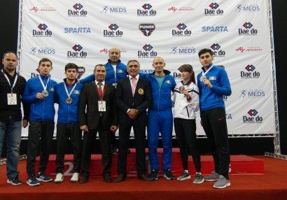 Karateçilərimizdən 4 medal