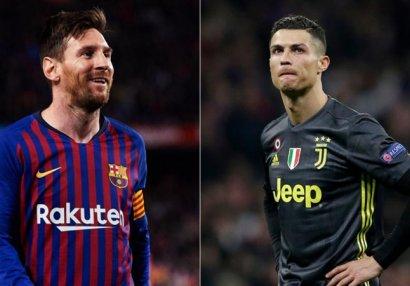 Messi Ronaldonu keçdi