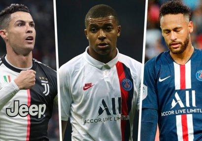 Dünyanın ən bahalı 10 futbolçusu - Ronaldoya böyük şok