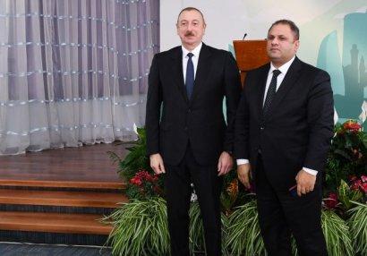 Prezident İlham Əliyev Tofiq Heydərovu mükafatlandırdı