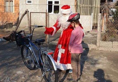 Balaca Damlanın velosiped istəyi yerinə yetirildi - FOTOLAR