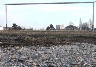 Şamaxı stadionu yenidən qurulacaq - VİDEO