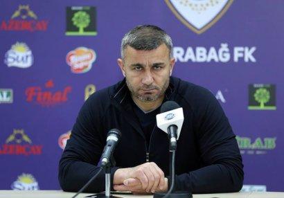 """Qurban Qurbanov: """"Qarşıdakı oyuna vaxtımız azdı"""