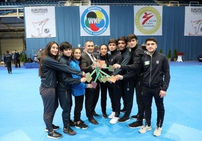 Karateçilərimiz Avropa birinciliyini 8 medalla bitirdi - NEÇƏ QIZIL ALDIQ?