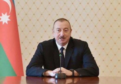 İlham Əliyev millimizi
