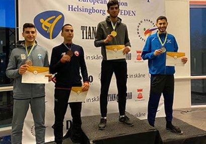 Ağayev İsveçdə qızıl medal qazandı