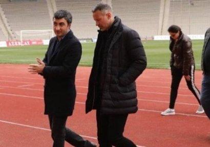 """Rayan Giqqz """"Tofiq Bəhramov"""" və """"Azərsun Arena""""da - FOTOLAR"""