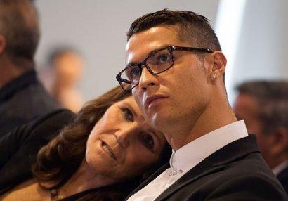 Ronaldonun anası iflic oldu