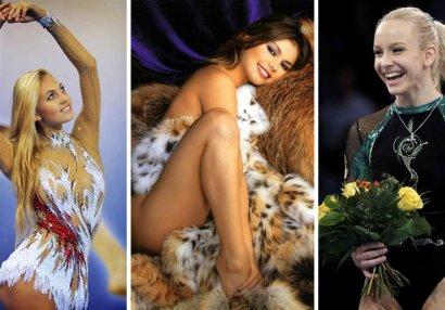 Dünyanın ən yaraşıqlı xanım gimnastları - FOTOLAR