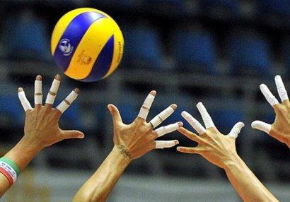Voleybol üzrə Azərbaycan çempionatları da dayandırıldı