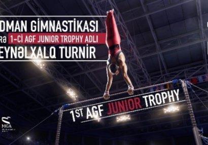 Пять гимнаст будут представлять Азербайджан на «AGF Junior Trophy»