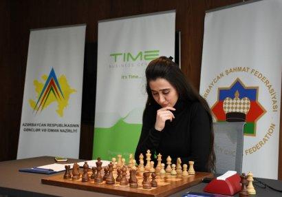 Стартовал чемпионат Азербайджана по шахматам среди женщин