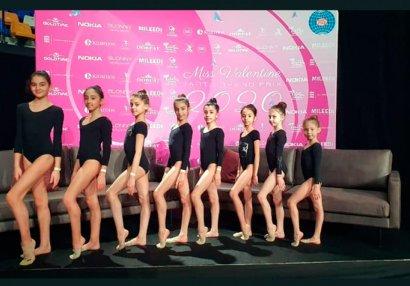 Гимнастки спортивного клуба «Оджаг» успешно выступили на турнире «Мисс Валентина-2020»
