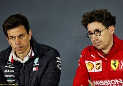 Итальянская пресса: Mercedes объявила войну Ferrari