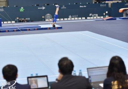 В Баку стартовал международный турнир AGF Junior Trophy по мужской спортивной гимнастике