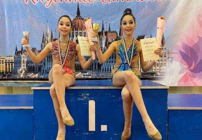 Сестры-близняшки взяли золото и серебро - ВИДЕО!