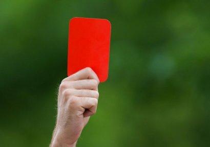 AFFA baş hakimin qırmızı vərəqəsini ləğv etdi