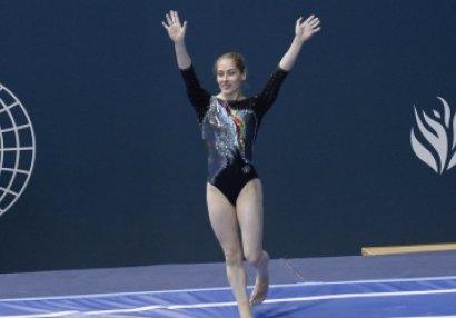 Azərbaycan gimnastı dünya kubokunun finalında