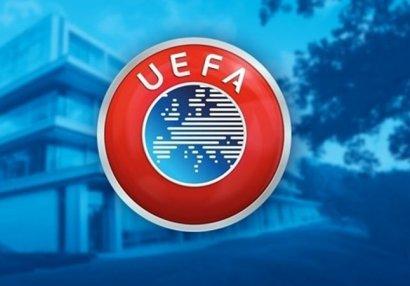 UEFA elit-raund mərhələsinin oyunlarını dayandırdı